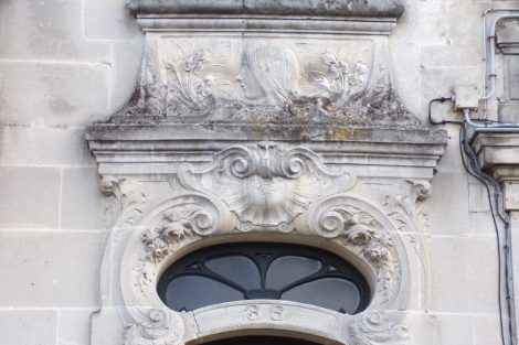 Maison construite en 1913 par l'entrepreneur Pierre Champeaux (13 mars 2017)