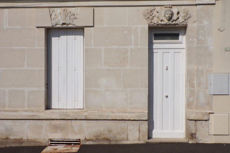 Maison, 61, rue du Champ de Foire (15 mars 2017) - porte d'entrée