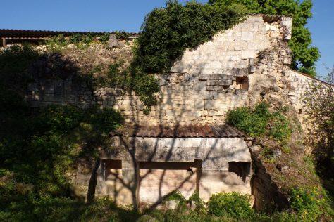 Saint-Même les Carrières - Le château - partie nord-est (10 avril 2017)
