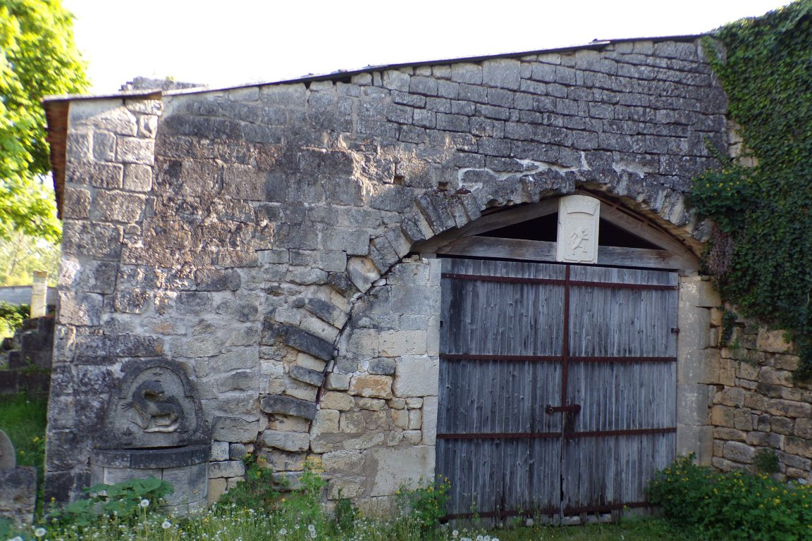 Saint-Même les Carrières - Le château - partie nord-ouest (10 avril 2017)
