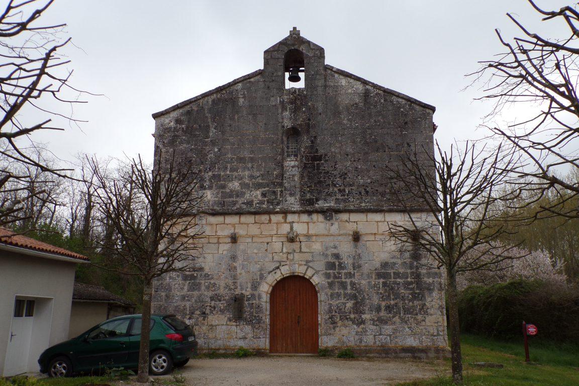 Salles d'Angles - L'ancienne commanderie de Templiers (5 avril 2017)
