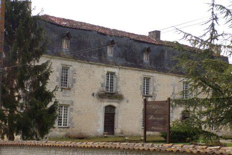 Angeac-Champagne - Le Château de Roissac (5 avril 2017)