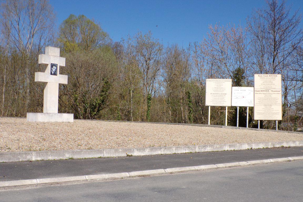 Angeac-Charente - Le mémorial Claude Bonnier (26 mars 2017)