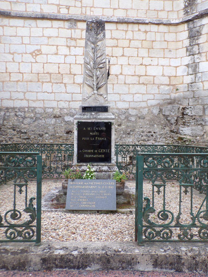 Le monument aux morts (18 septembre 2016)
