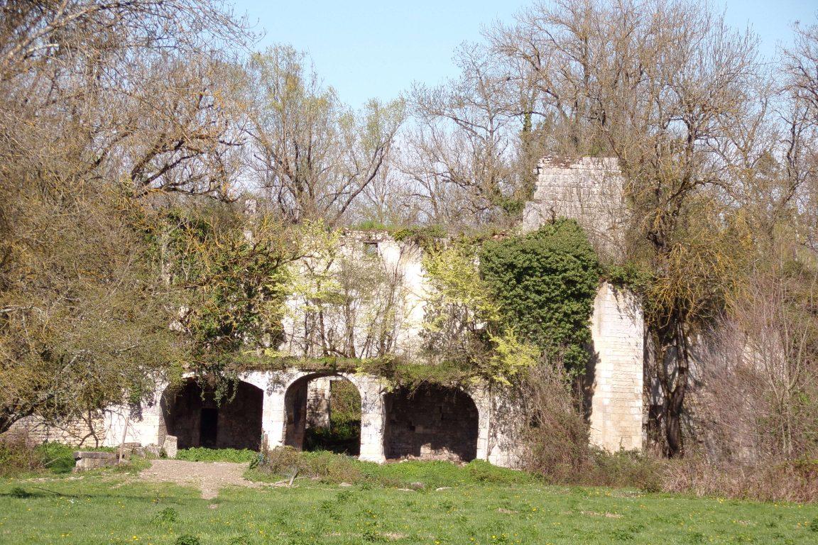 Vibrac - Le château de Vibrac (26 mars 2017)