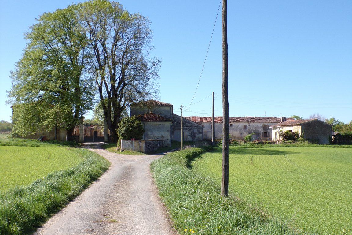 Saint-Sulpice de Cognac - La ferme de la Plante (12 avril 2017)