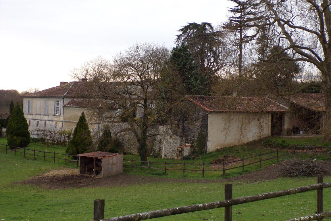 Javrezac - Le logis du Bousquet (24 mars 2017)