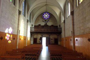 L'église Saint-Jacques - Vue de l'autel (16 mars 2017)