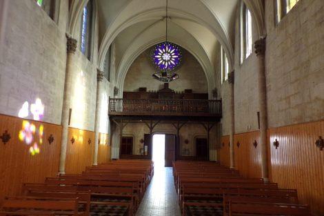 Eglise Saint-Jacques - Vue de l'autel (16 mars 2017)