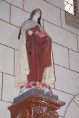 Bouteville - L'église Saint-Paul - Sainte Thérèse de Lisieux dite »Sainte Thérèse de l'Enfant Jésus » (21 mars 2017)