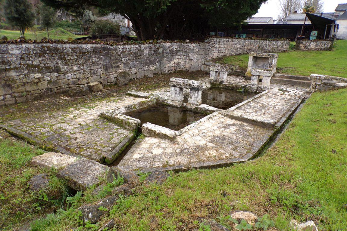 Le lavoir de l'Eglise - Bouteville (21 mars 2017)
