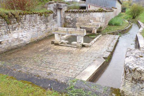 Bouteville - Le lavoir du Prat (21 mars 2017)