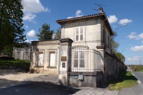 Entree du Château de Chanteloup