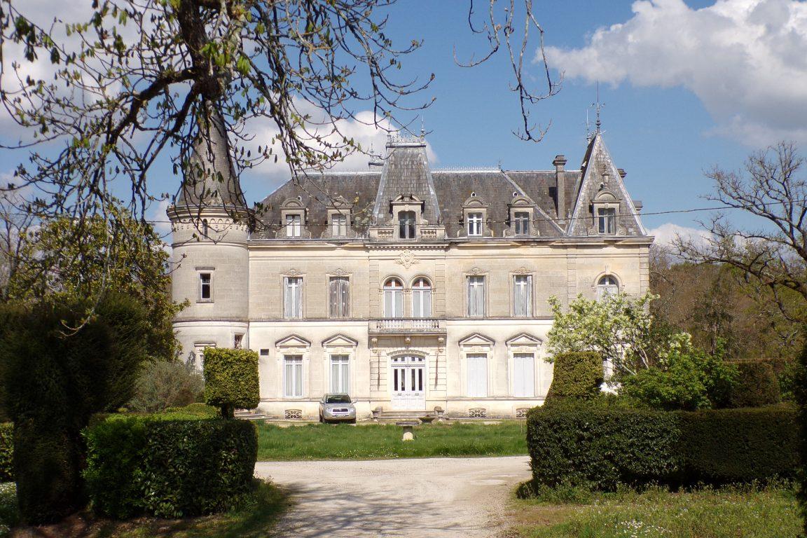Saint-André - Le château Font-Joyeuse (3 avril 2017)