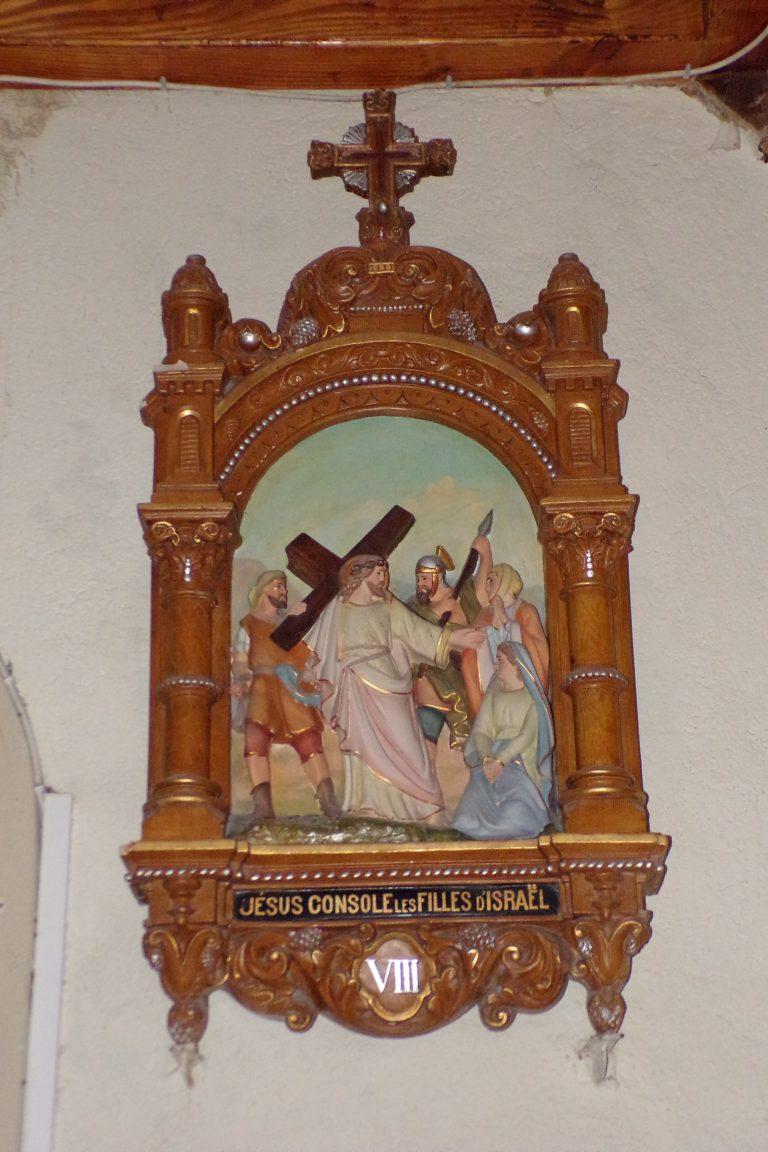 Burie - L'église Saint-Léger - Le chemin de croix (13 avril 2017)