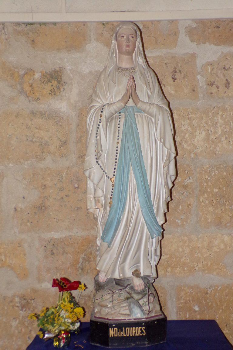 Burie - L'église Saint-Léger - ND de Lourdes (13 avril 2017)