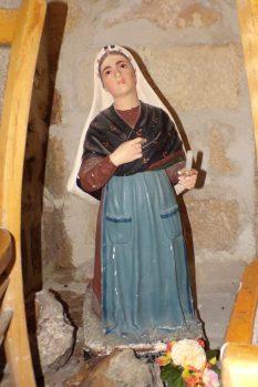 Burie - L'église Saint-Léger - Sainte Bernadette Soubirous (13 avril 2017)