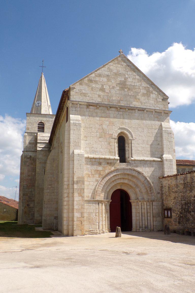 Cherves-Richemont - L'église Saint-Vivien (3 avril 2017)