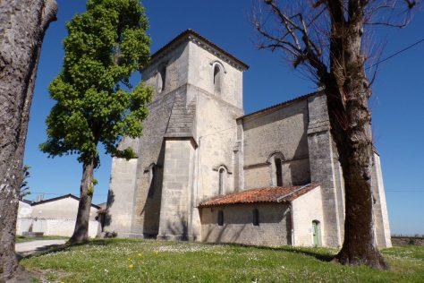 Angeac-Champagne - Eglise Saint-Vivien (7 avril 2017)