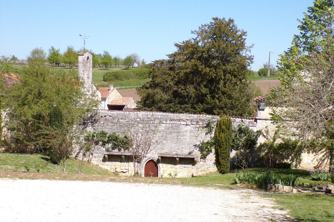 Burie - L'abbaye de Fontdouce (12 avril 2017)