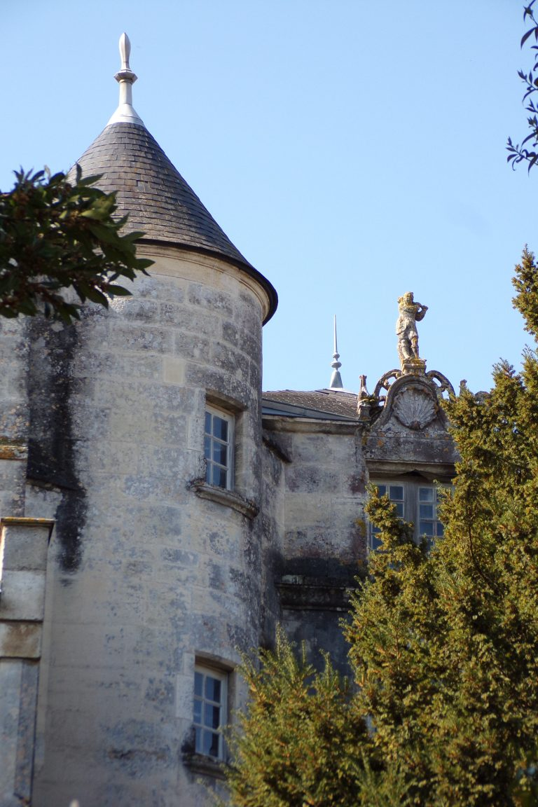 Burie - Le Château (13 avril 2017)