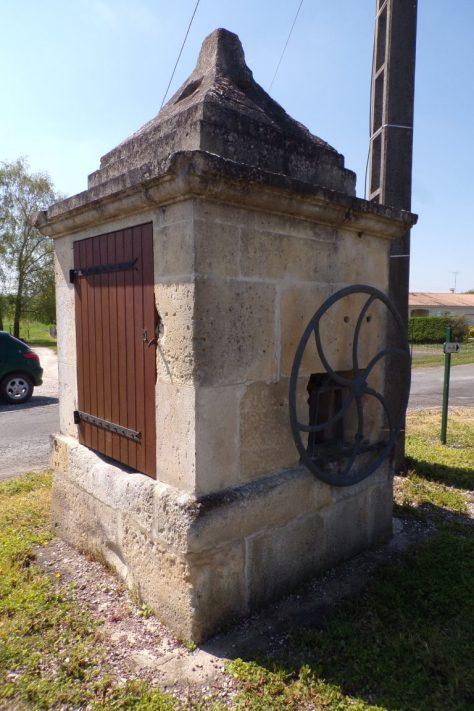 Le puits de chez Jouannais (13 avril 2017)