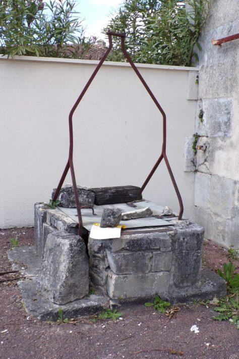 Le puits avenue Jean Monnet