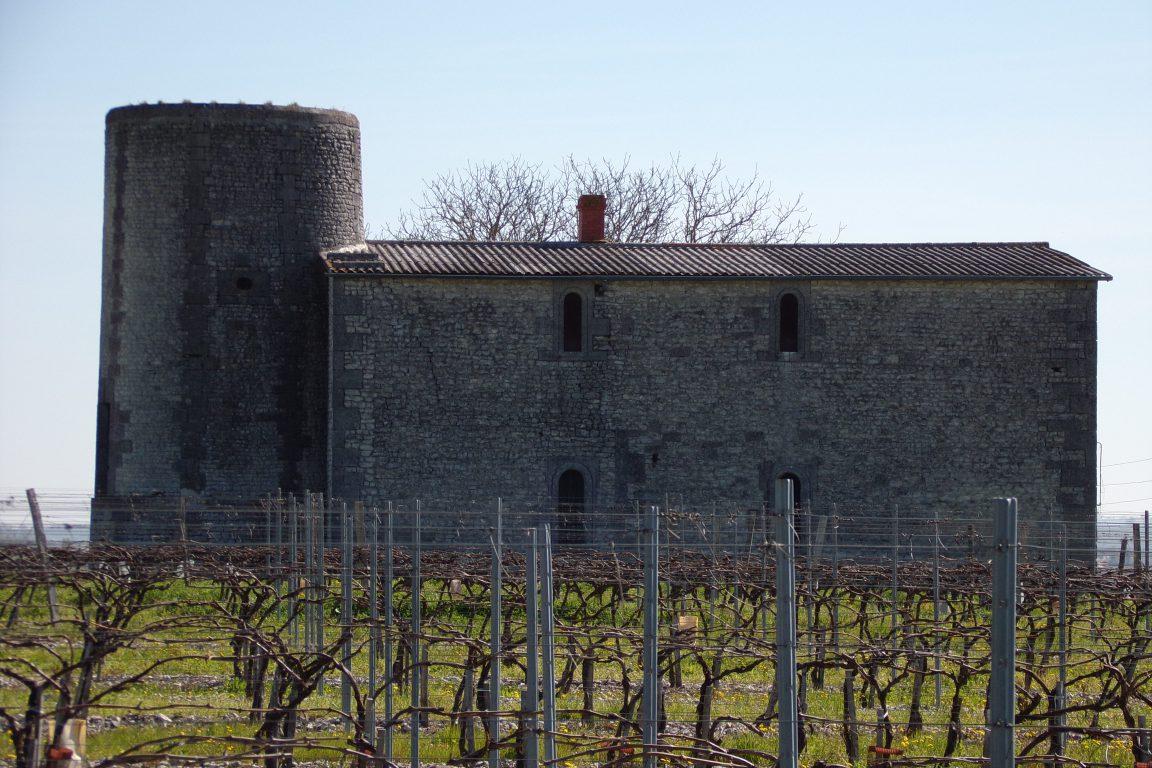 Angeac-Champagne - Le moulin à vent àla Millière (7 avril 2017)