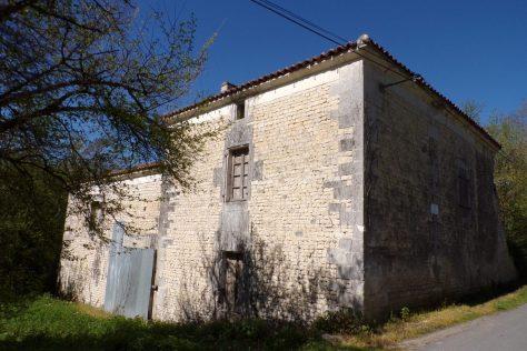Angeac-Champagne - Le moulin à eau àla Motte (7 avril 2017)