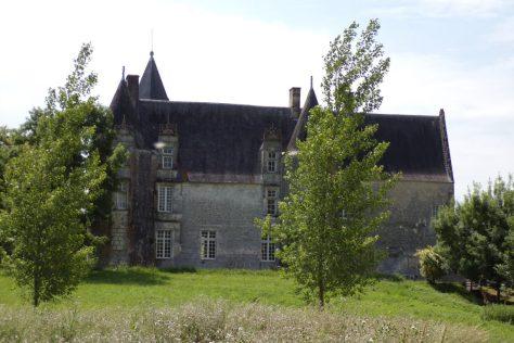 Bonneuil - Le château du Breuil (31 mai 2017)