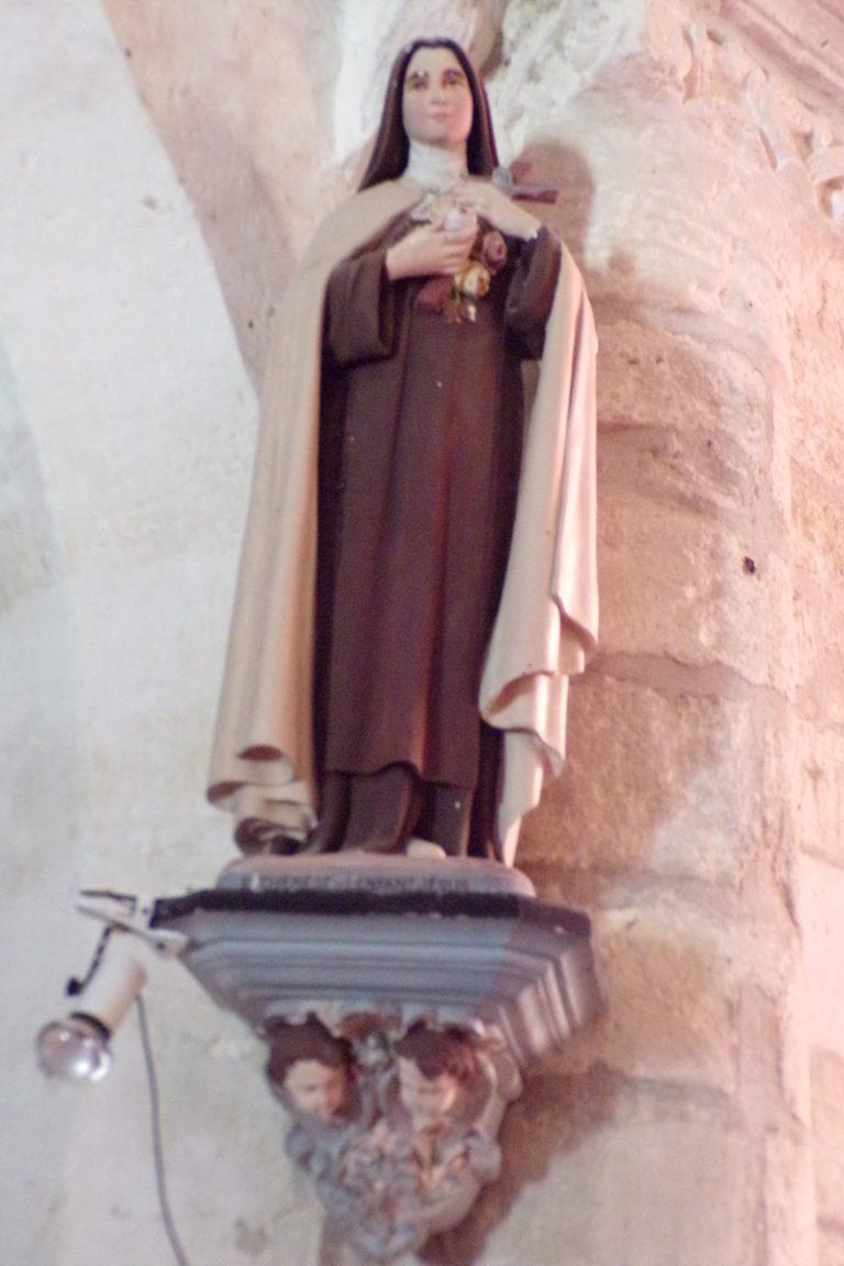 """Bréville - L'église Saint-Benoît - Sainte Thérèse de Lisieux dite """"Sainte Thérèse de l'Enfant Jésus"""" (27 mai 2017)"""