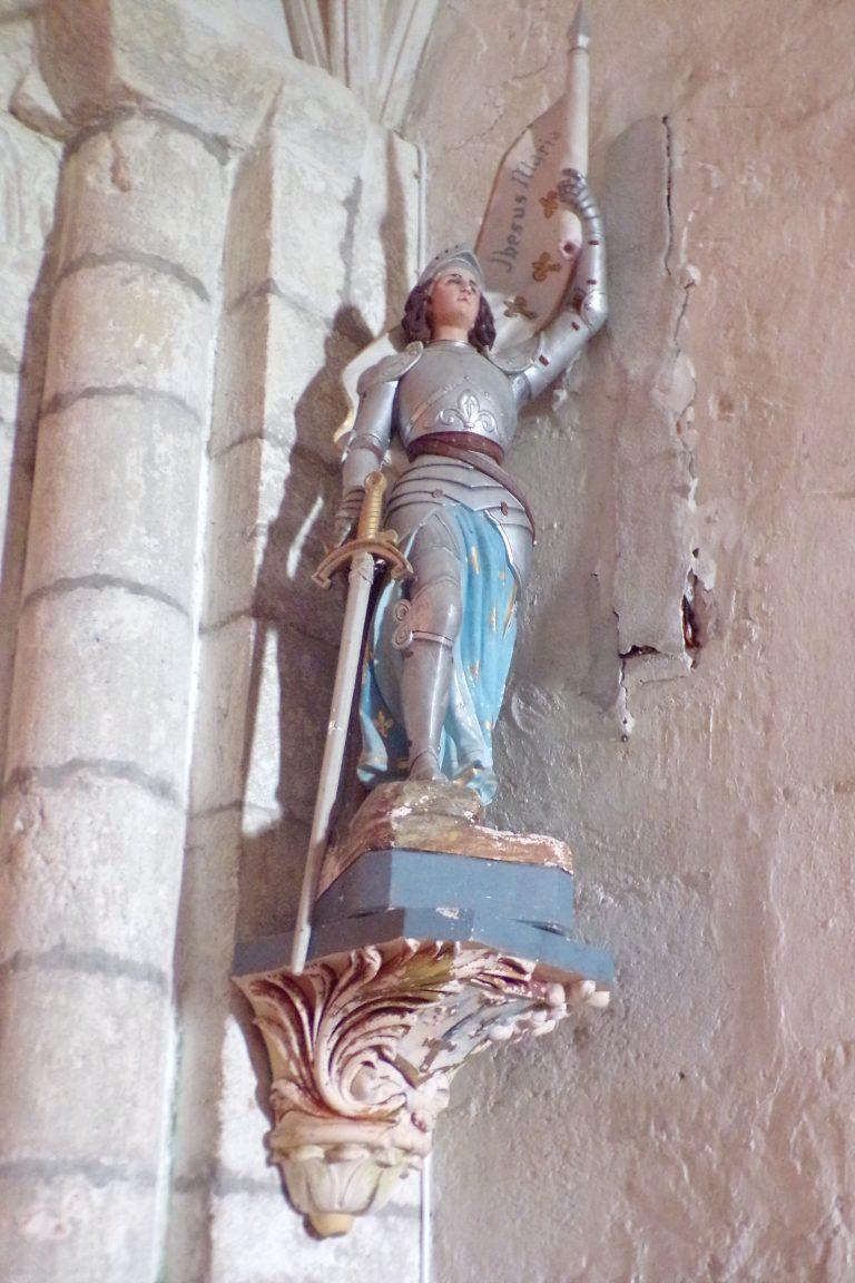 Bréville - L'église Saint-Benoît - Jeanne d'Arc (27 mai 2017)