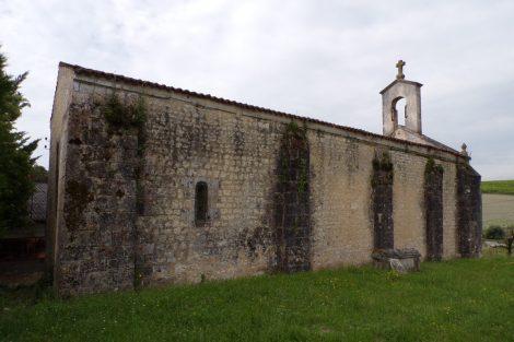 Eglise de Saint-Palais-des-Combes (31 mai 2017)