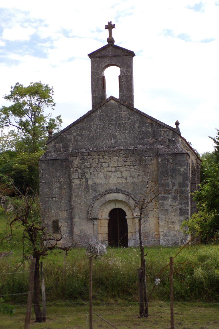 Lignières-Sonneville - L'église de Saint-Palais-des-Combes (31 mai 2017)