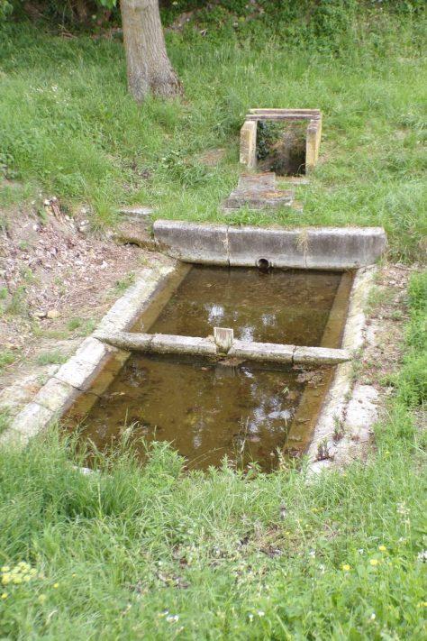 Le lavoir de Bussac