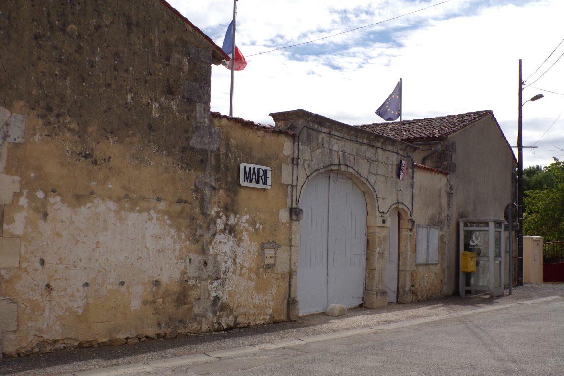Saint-Sulpice de Cognac - La mairie (12 mai 2017)