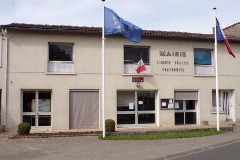Boutiers-Saint-Trojan - La mairie (28 mai 2017)