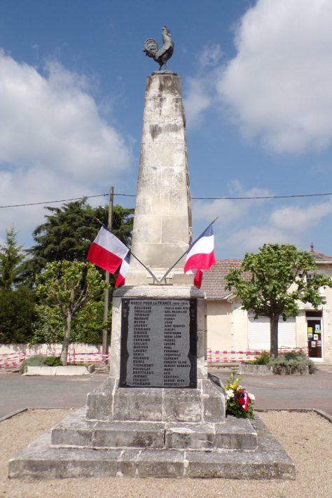 Monument aux morts (8 mai 2017)