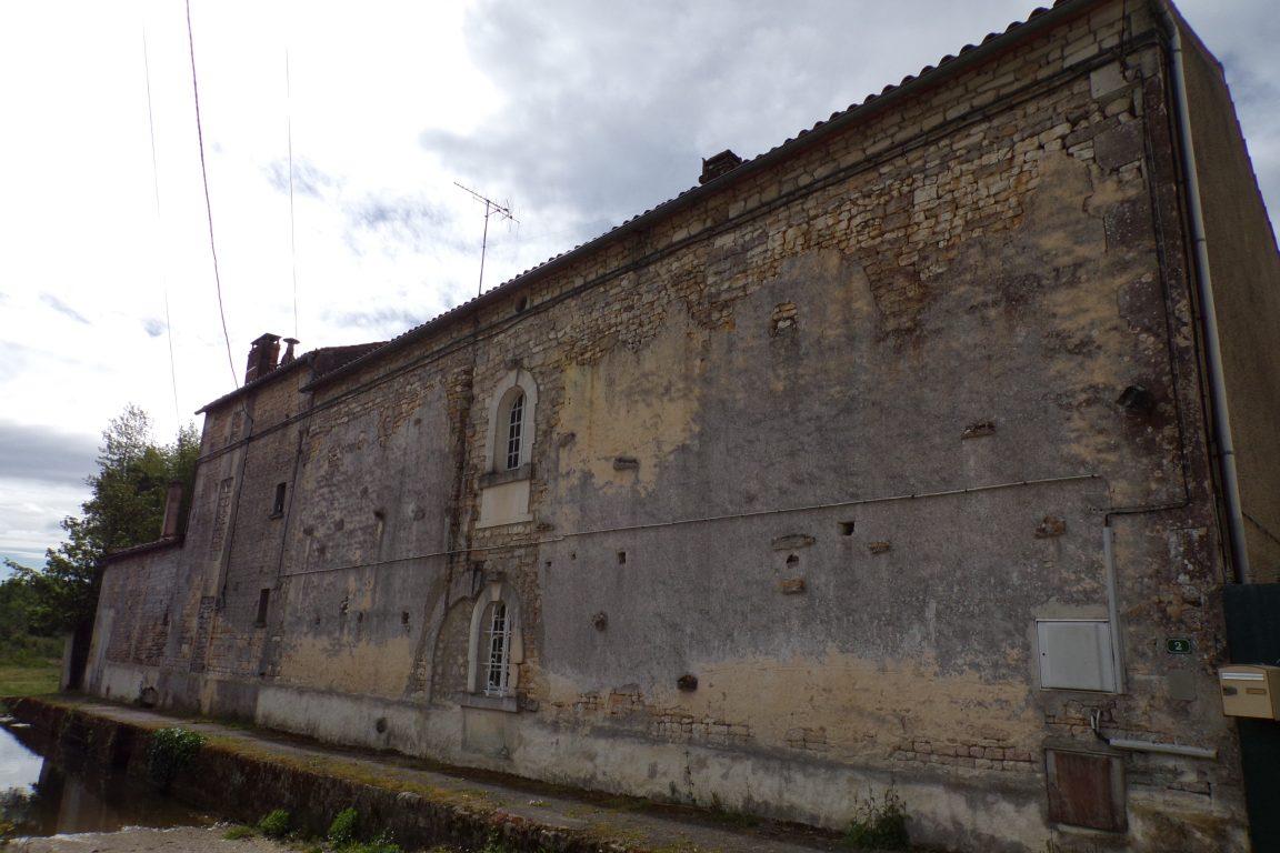 Saint-Sulpice de Cognac - Le moulin à Coulonges (12 mai 2017)