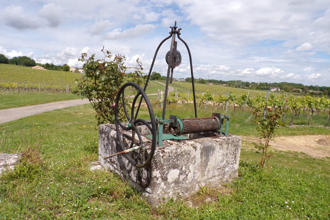 Saint-Sulpice de Cognac - Le puits de Saint-Martin (12 mai 2017)