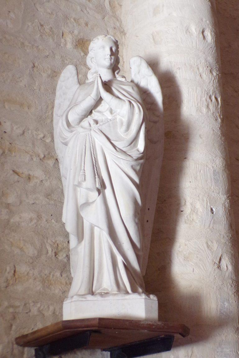 L'église Saint-Aubin - Un ange (12 juin 2017)
