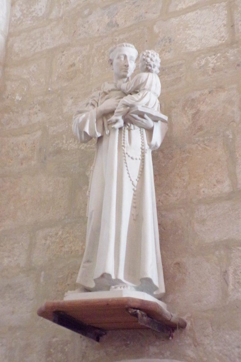 Courbillac - L'église Saint-Aubin - Saint Antoine de Padoue (12 juin 2017)