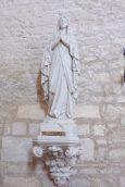 Courbillac - L'église Saint-Aubin - ND de Lourdes (12 juin 2017)