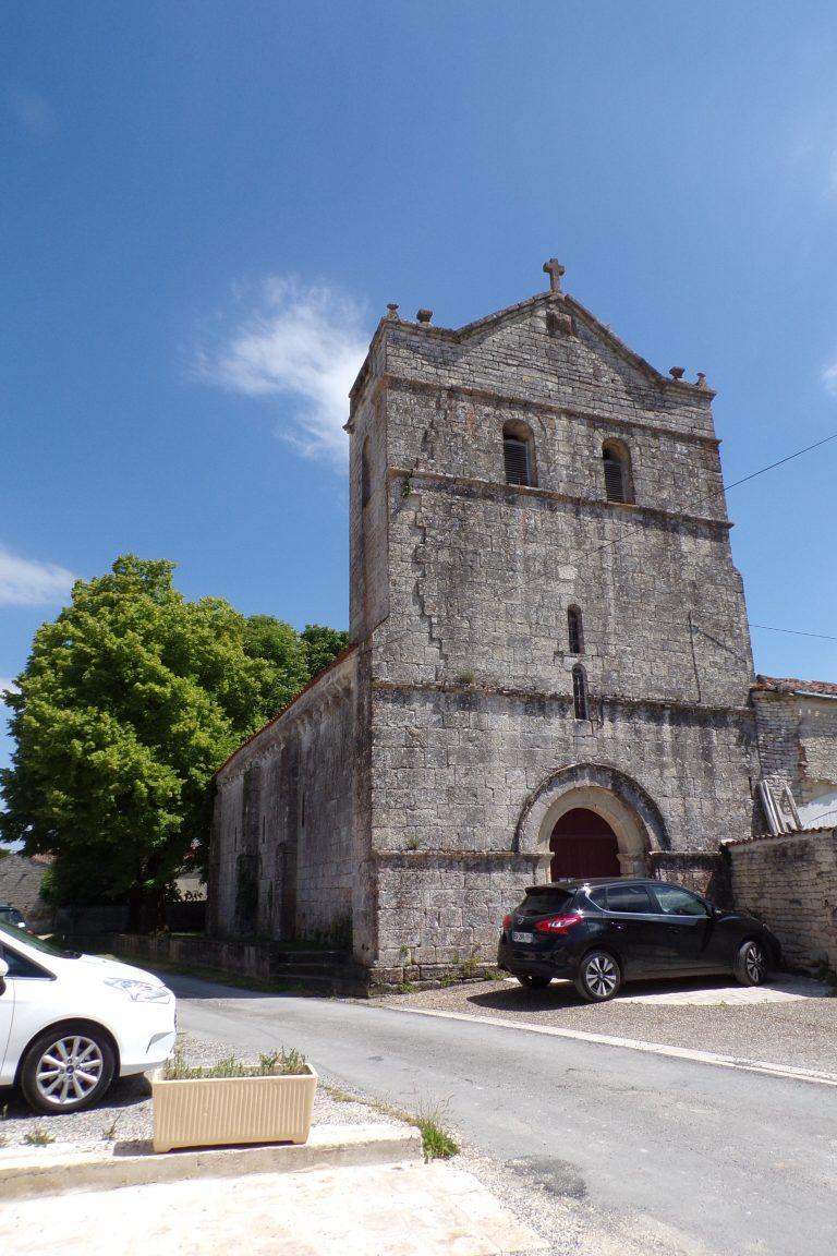 Courbillac - L'église d'Herpes (12 juin 2017)
