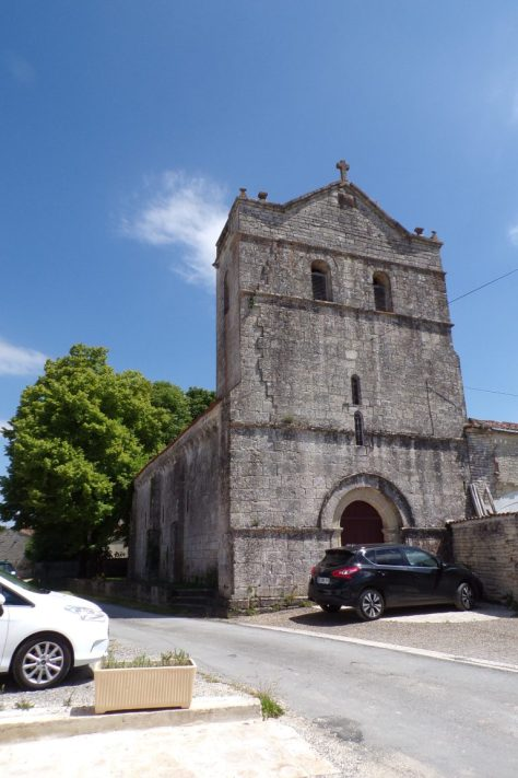 Eglise d'Herpes (12 juin 2017)