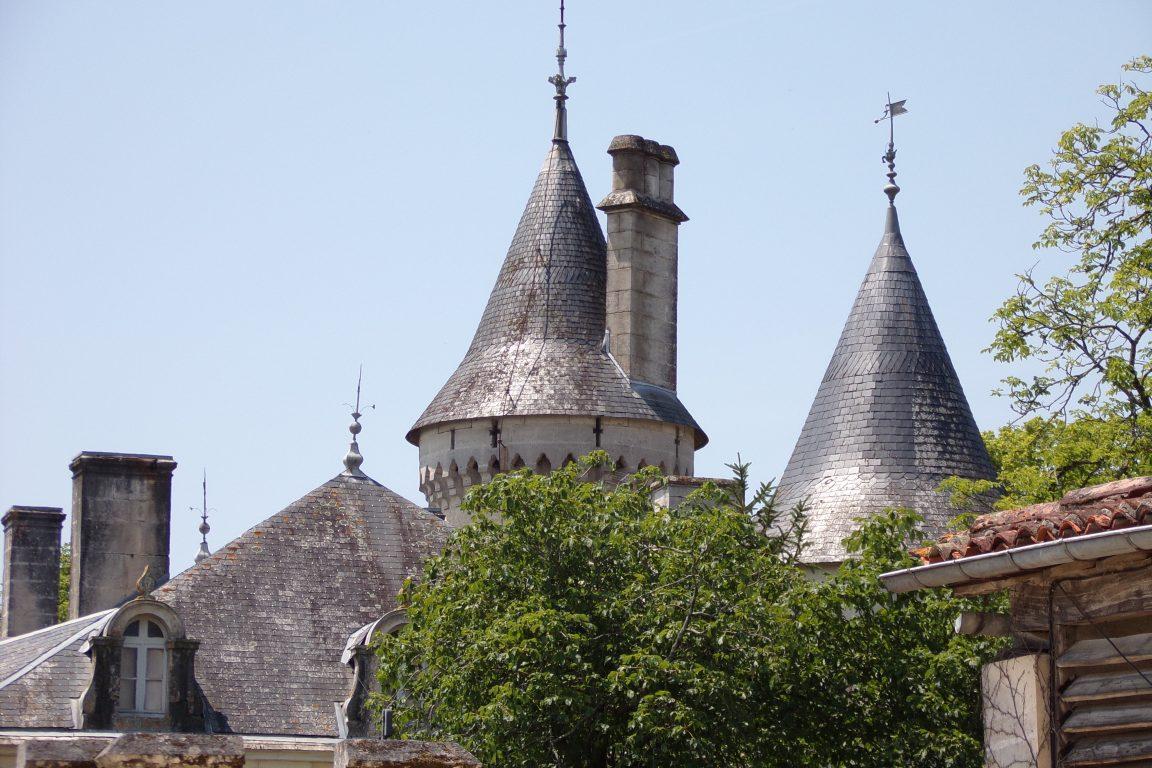 Fleurac - Le château de Fleurac (15 juin 2017)