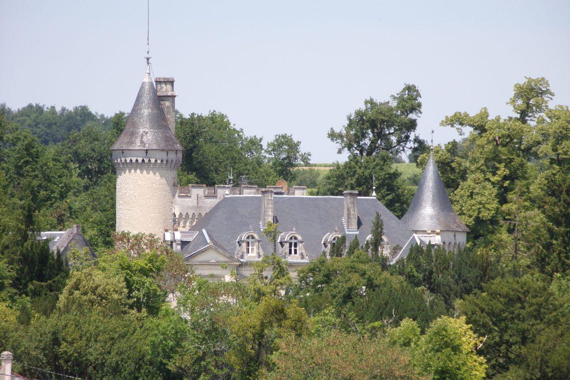 Fleurec - Le château de Fleurac (15 juin 2017)