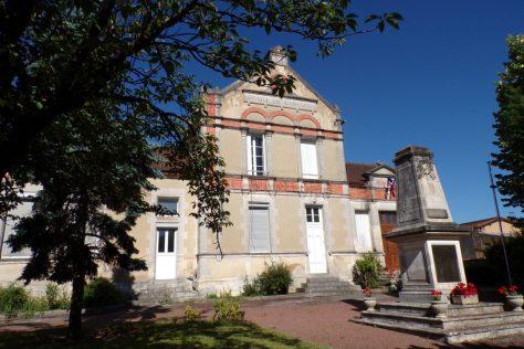 Mérignac - L'école de garçon et ancienne mairie (10 juin 2017)