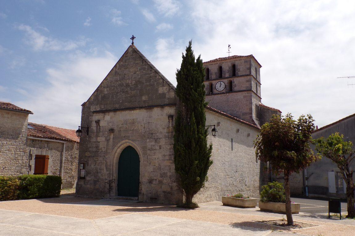 Réparsac - L'église Saint-Pierre (12 juin 2017)