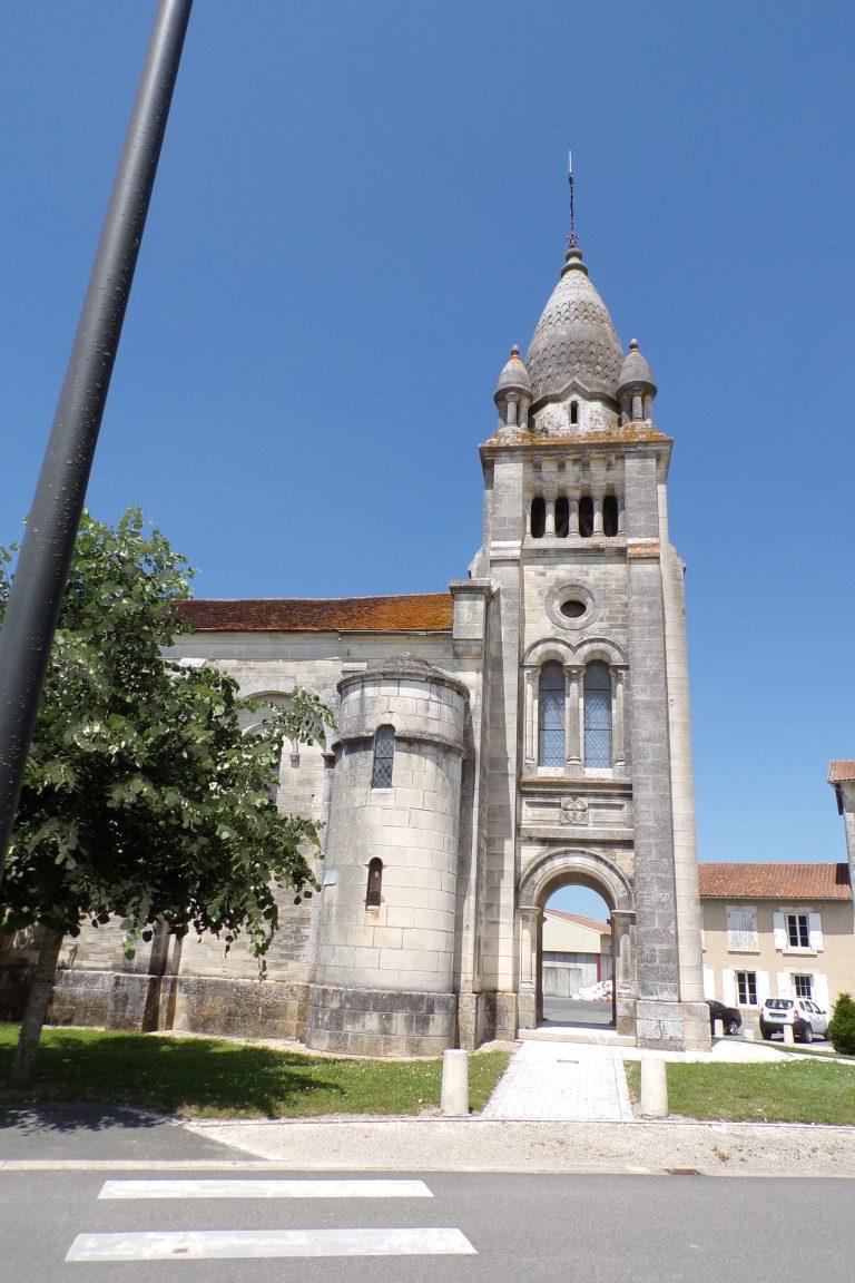 Sainte-Sévère - L'église Sainte-Sévère (12 juin 2017)